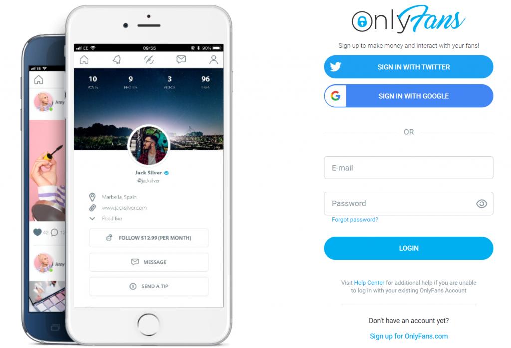 Hoe maak je een OnlyFans account